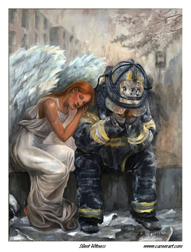 Firefighter Artwork Dedicated to Firefighters Worldwide